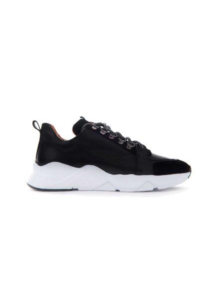 Ανδρικό Casual Sneaker Μαύρο - Fenomilano Θεσσαλονίκη