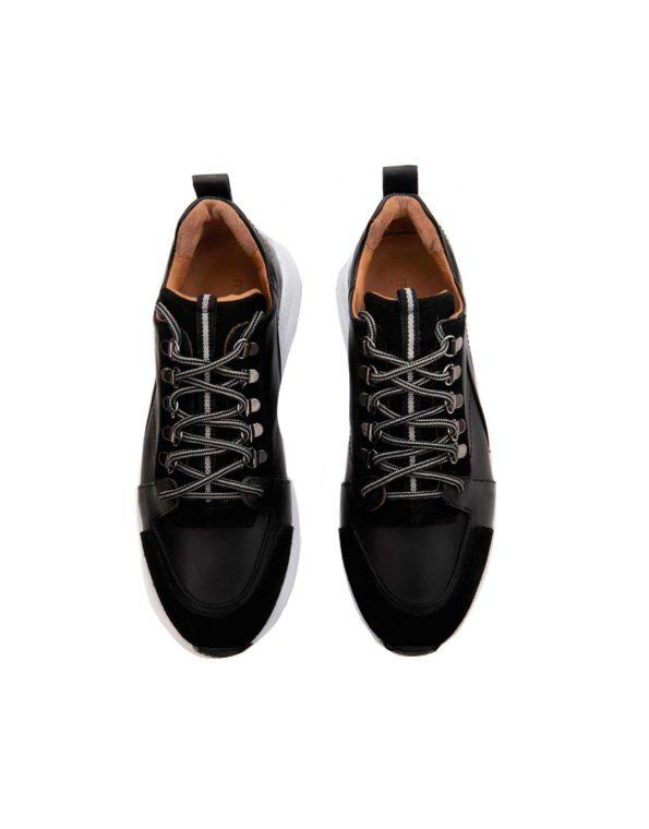 Ανδρικό Casual Sneaker Μαύρο – Fenomilano Θεσσαλονίκη