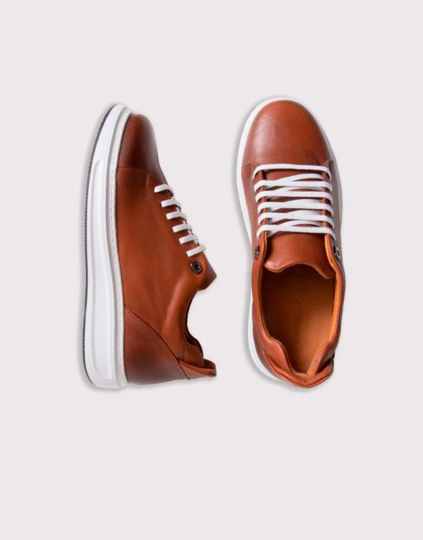 Ανδρικά Δερμάτινα Sneaker Ταμπά