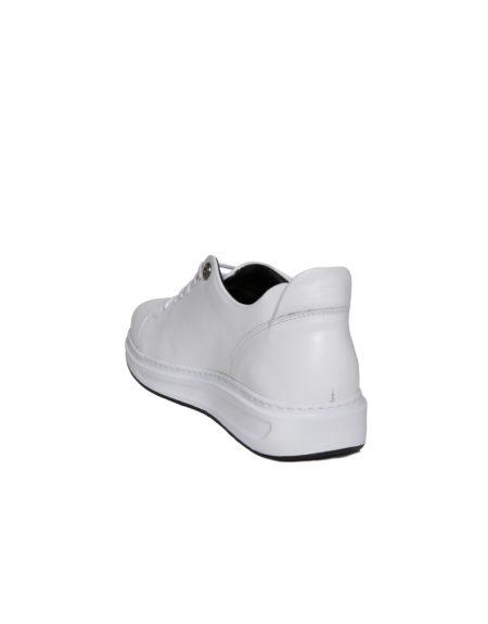 Δερμάτινο Sneaker Ανδρικό - Λευκό
