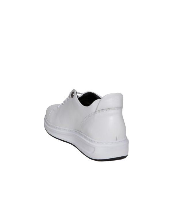 Δερμάτινο Sneaker Ανδρικό – Λευκό