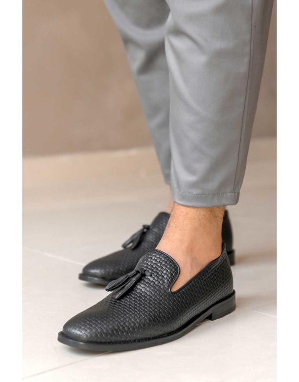 Κλασσικά Δερμάτινα Ανδρικά Loafers – Black