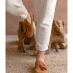Ανδρικό Κλασσικό Loafer Suede Leather – Taba