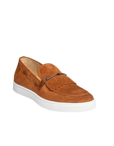 Ανδρικά Slip-On Suede Leather - Taba
