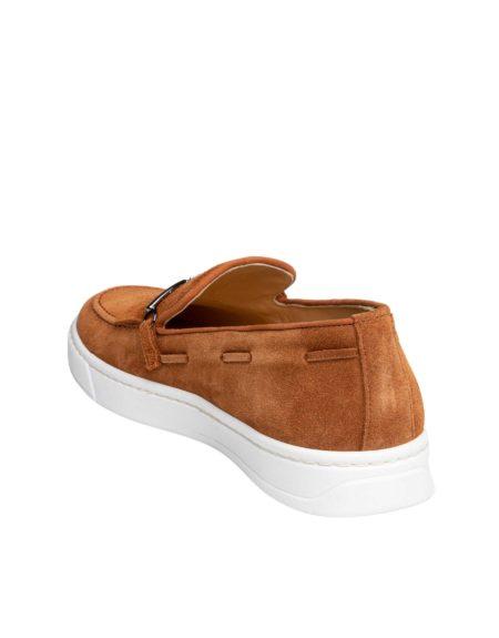 Ανδρικά Slip-On Suede Leather - Taba