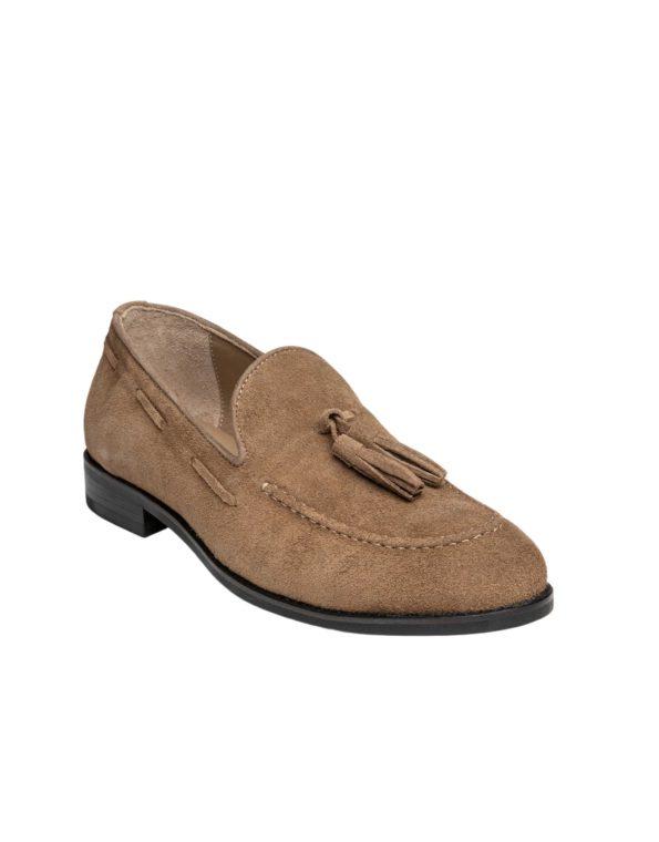 Ανδρικό Κλασσικό Loafer Suede Leather – Taype