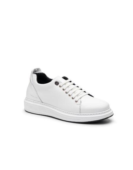 Ανδρικό Δερμάτινο Sneaker - Λευκό (108 White)