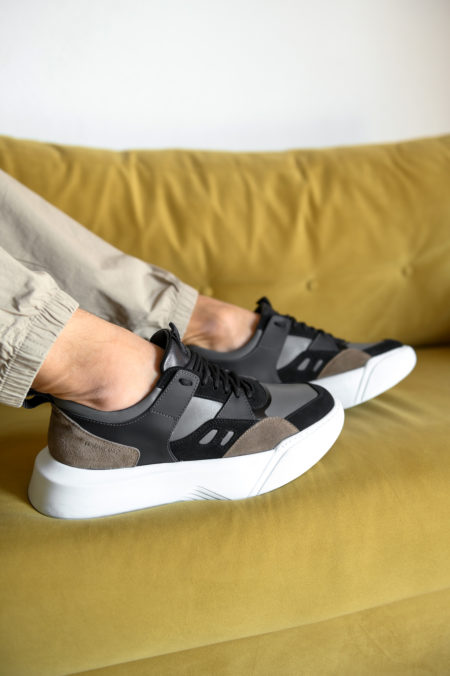 Ανδρικά Δερμάτινα Sneakers Πολύχρωμα - (2226 Multicolor)