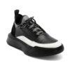 Ανδρικά Δερμάτινα Sneakers Τρίχρωμα - (2228Α)