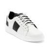 Ανδρικά Δερμάτινα Sneakers Λευκά - (2229 White)