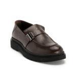 Ανδρικά Δερμάτινα Loafers Σκούρο Καφέ - (1928-1 D.Brown)