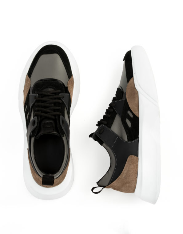 andrika-dermatina-sneaker-grey-black-taupe-cod2226-fenomilano-leather-shoes (3)