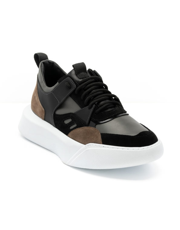 andrika-dermatina-sneaker-grey-black-taupe-cod2226-fenomilano-leather-shoes