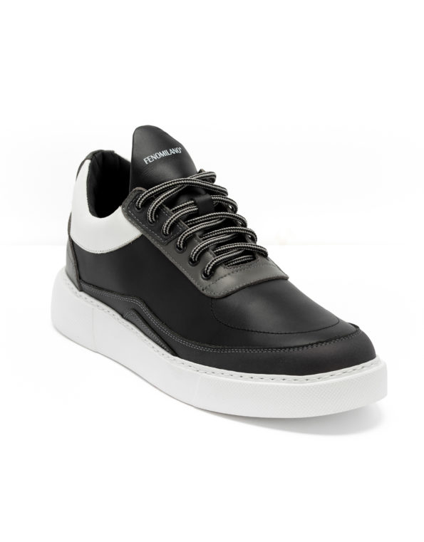 andrika-dermatina-sneaker-grey-black-white-cod2223-fenomilano-leather-shoes