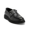Ανδρικά Δερμάτινα Loafers Μαύρα - (1928-1 Black)